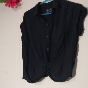 Abercrombie & Fitch knotted button down